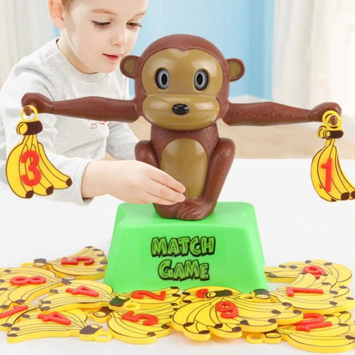 Singe équilibre cool jeu de mathématiques pour les filles et garçons Fun cadeau éducatif_lht9930