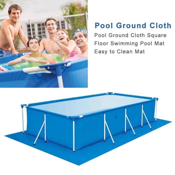 290*210CM Tapis de piscine de plancher de piscineacile à nettoyer le tapis pour de diverses piscines gonflables