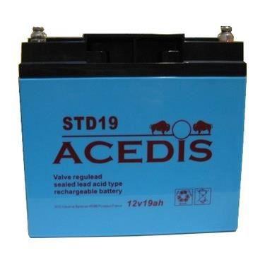Batterie plomb étanche 12V 19Ah ACEDIS