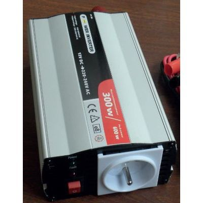 Convertisseur 300 watts pure sinusoide 12 volts po