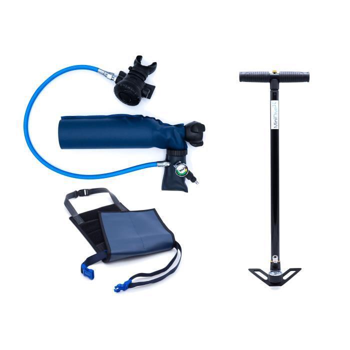 MiniDive Pro (0,5 L) + Pompe manuelle M4S + Harnais