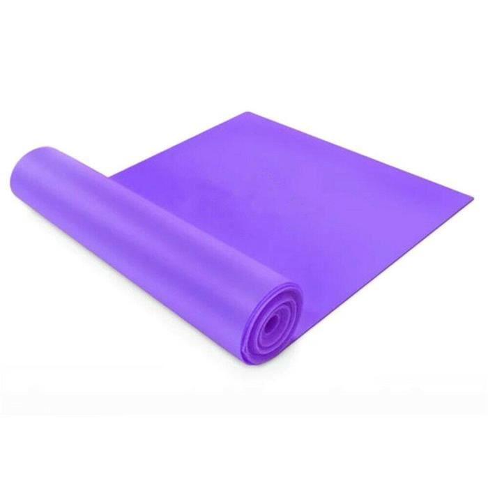 1.5-2m Bandes de résistance Theraband Physio Ballet Pilates Yoga Gymnastique Bandes - 1.5M (Purple)