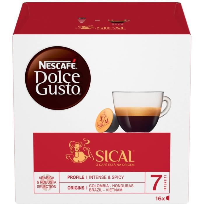 Capsules Sical Café Dolce Gusto