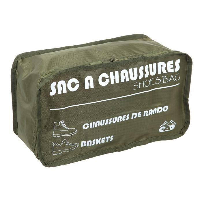 CAO CAMPING Sac a chaussures - Vert armé