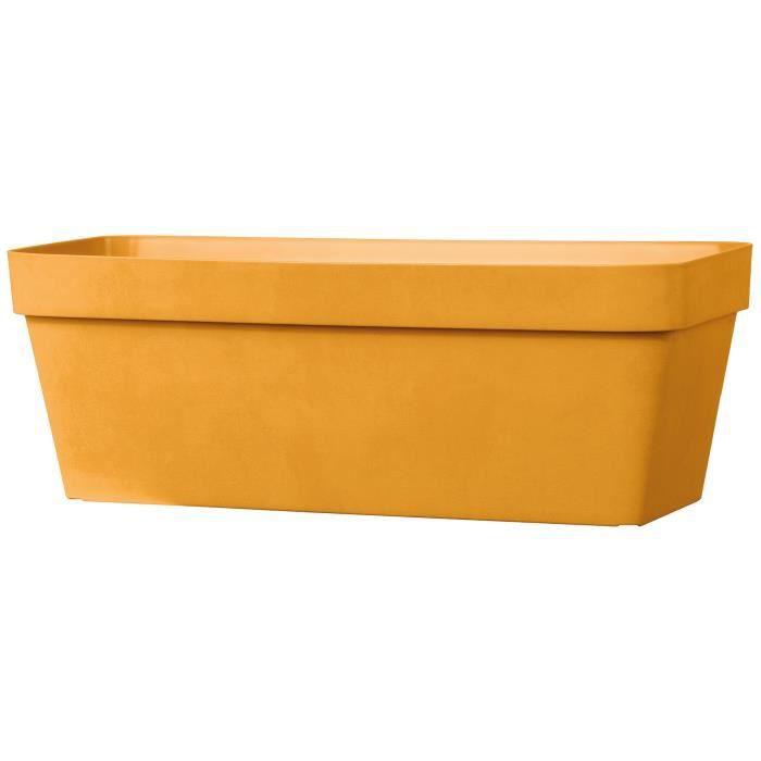 DEROMA Jardinière Like curry - Coloris jaune - 49x17cm