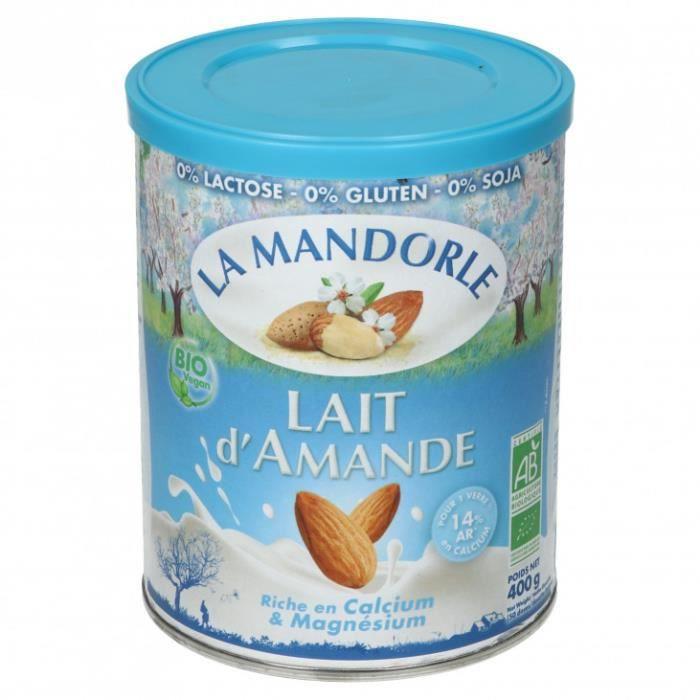 La Mandorle - Lait poudre amande châtaigne