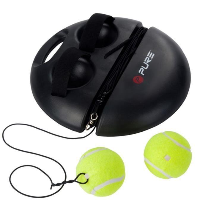 Pure2Improve Matériel d'entrainement de tennis noir