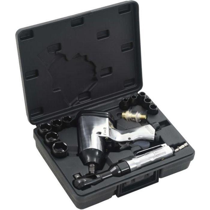 Jeu d'outils pneumatiques 1-2- 16 pcs