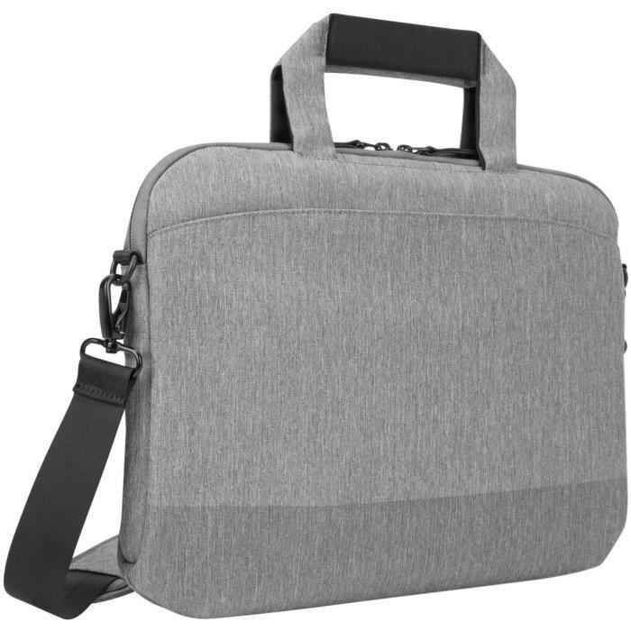 TARGUS CityLite - Sacoche pour ordinateur portable - 12- - 15.6- - Gris