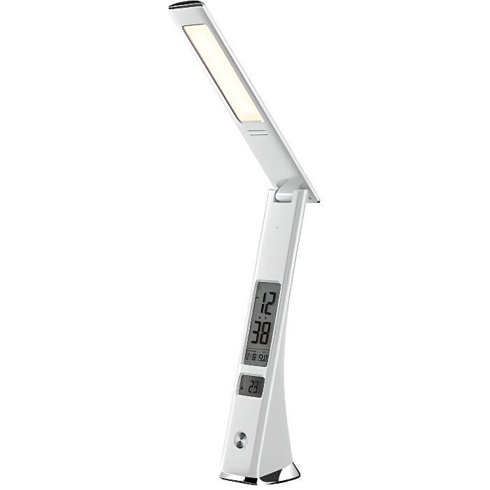 Lampe de bureau LED rechargeable WE blanche - WEREVLAMPEBL Blanc