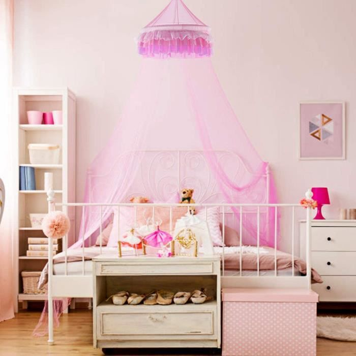 ciel lit princesse achat vente ciel lit princesse pas cher cdiscount. Black Bedroom Furniture Sets. Home Design Ideas