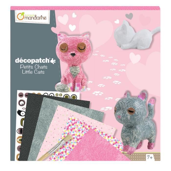 Kit décopatch Avenue Mandarine - Coffret creatif, Decopatch, Kit