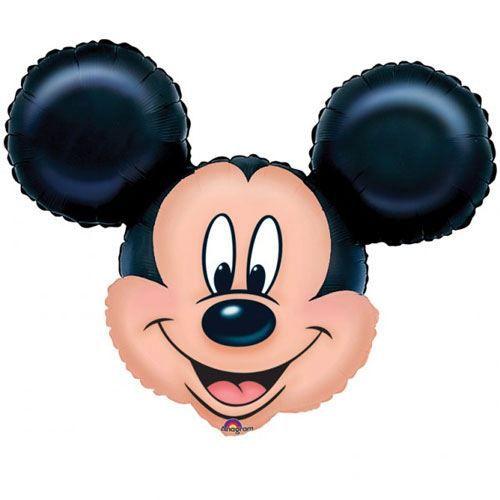 BALLON DÉCORATIF  Ballon Tête de Mickey Non Gonflé