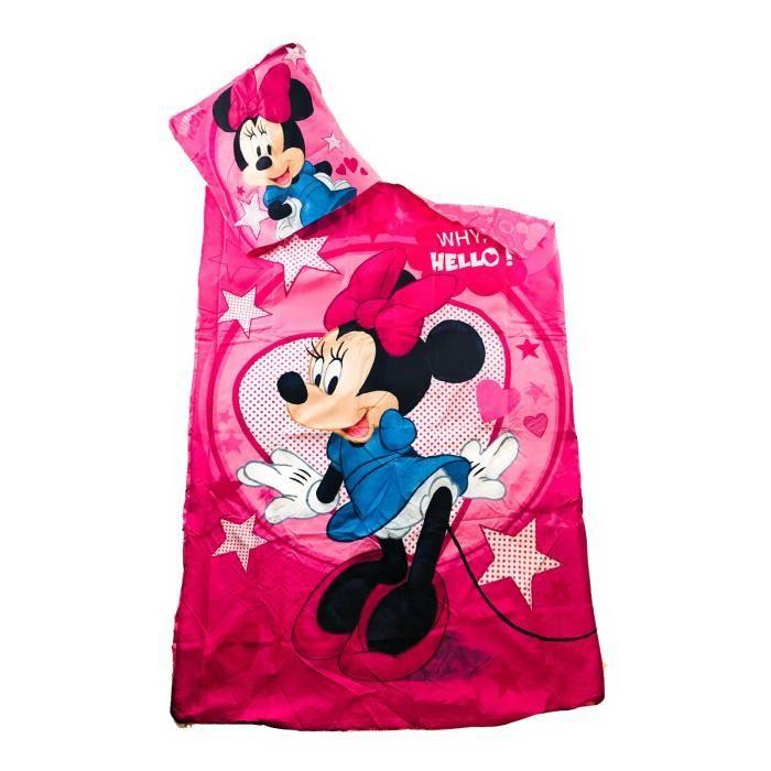 HOUSSE DE COUETTE ET TAIES Parure de Lit Minnie Mouse - Disney - Housse de co