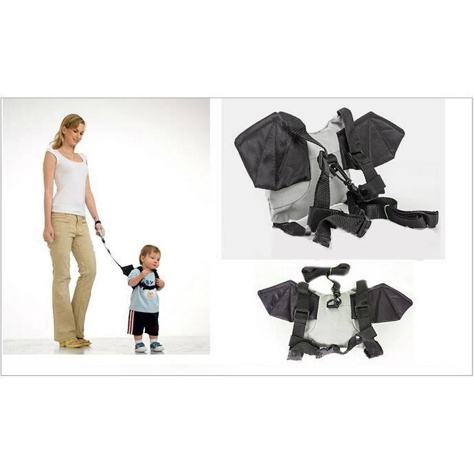 Bébé Sac a dos avec courroie de marche anti-perdu