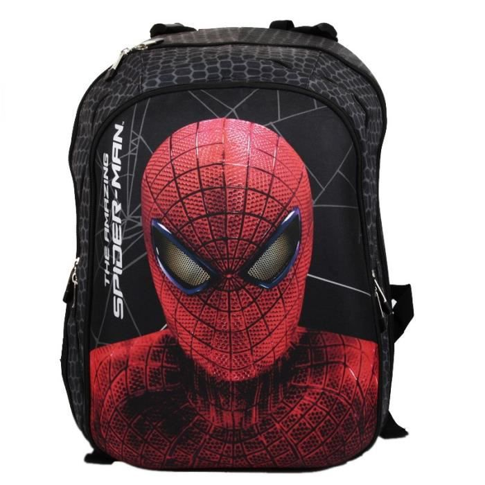 Disney Sacoche enfant Spiderman Noir oGa4ZYN3j