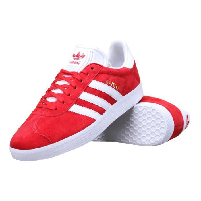 chaussure adidas gazelle s76228 rouge rouge achat vente basket cdiscount. Black Bedroom Furniture Sets. Home Design Ideas