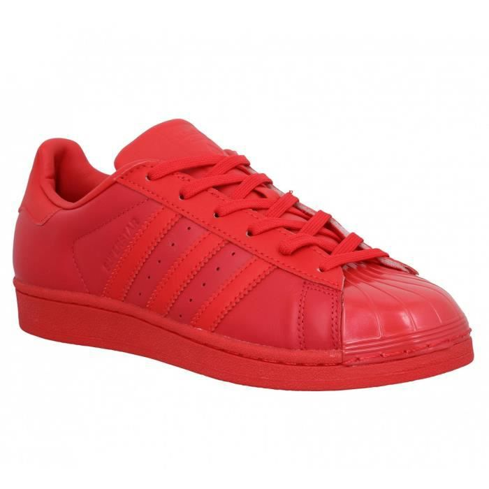 Chaussure Adidas Superstar Rouge