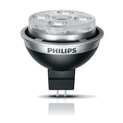 ampoule led philips master led gu5 3 7w 3000k 60d 12v. Black Bedroom Furniture Sets. Home Design Ideas