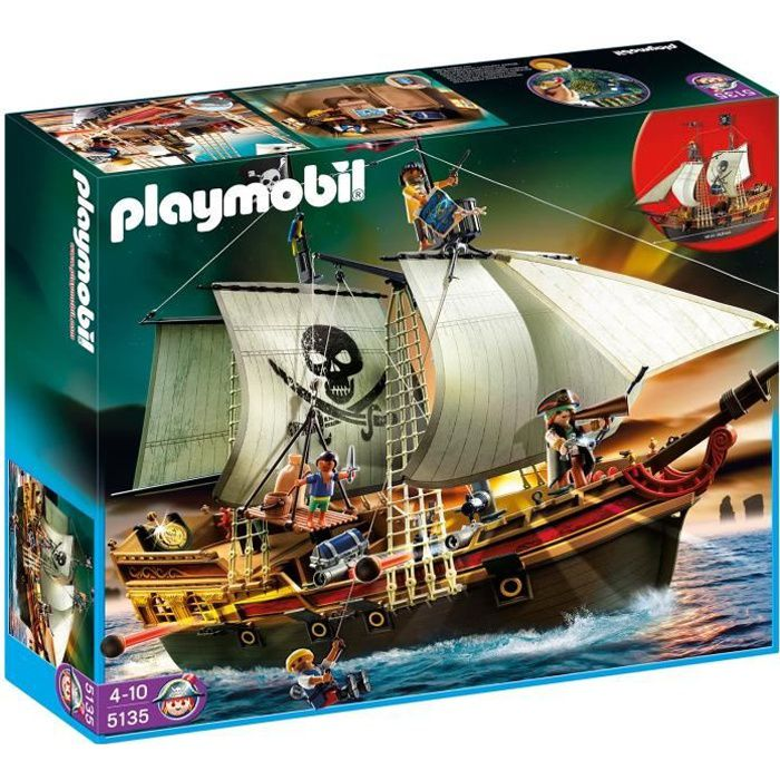 playmobil bateau pirate les bons plans de micromonde. Black Bedroom Furniture Sets. Home Design Ideas