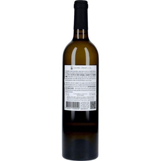 Vin Blanc - Villa Chambre d\'Amour Moelleux 2018 - Bouteille 75cl