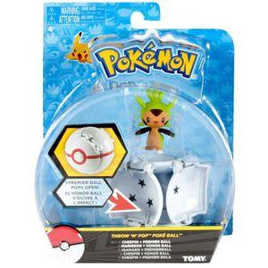 FIGURINE - PERSONNAGE Tomy Pokémon - T18875 - Throw'n'pop pokéball Maris