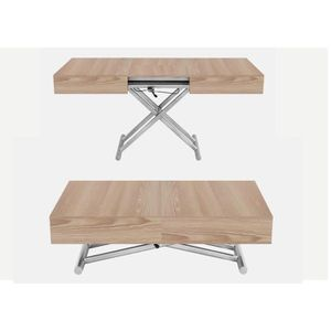 Table basse relevable extensible en bois achat vente table basse relevabl - Table basse relevable bois ...