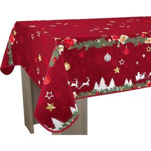 de toile cirée 3 Tailles Outdoor Coussin-étoile de Noël