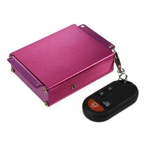 LECTEUR MP3 Moto FM Radio USB lecteur MP3 alarme avec telecomm