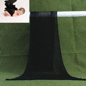 COUVERTURE - PLAID BÉBÉ bébé Wrap 40*150cm coton Couverture 3D Photographi