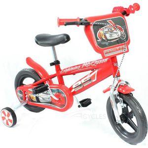 VÉLO ENFANT Vélo Enfant Disney Cars 10 pouces Rouge 2-4 ans