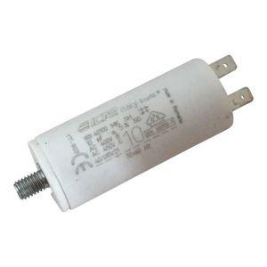 Condensateur permanent moteur /à cosse 100 /µF