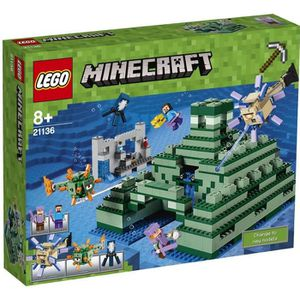 ASSEMBLAGE CONSTRUCTION LEGO® Minecraft  21136 Le Monument Sous-Marin