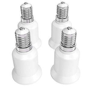 4x Lampes socle Y-Adaptateur e27 /> 2 x e27 connecteur Ampoules version Support Blanc