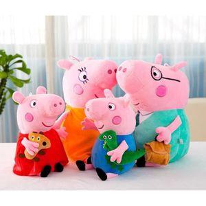 Peluches Soirée Pyjama Peppa Interactif Jouet Doux Peppa Pig