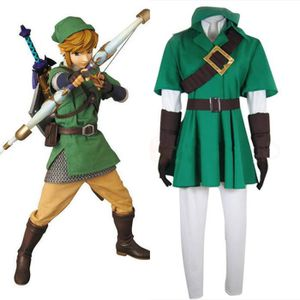 DÉGUISEMENT - PANOPLIE The Legend Of Zelda Link Uniforme Cosplay Costume