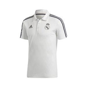 MAILLOT DE FOOTBALL Polo Real Madrid adidas Blanc