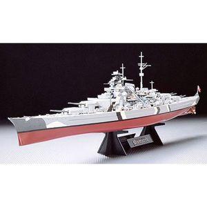 MAQUETTE DE BATEAU Cuirassé Bismarck Tamiya 1/350