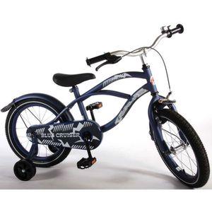 VÉLO ENFANT Vélo Enfant Garçon 16 Pouces avec Roues de Stabili