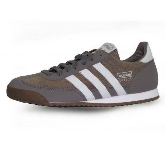 Adidas dragon Gris / Marron gris - Cdiscount Chaussures