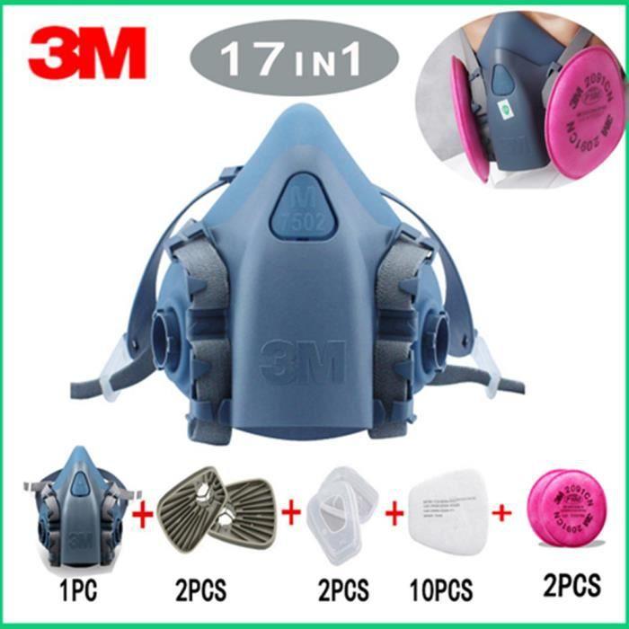 masque respiratoire virus 3m