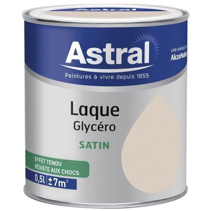 Laque satin 0.5L lin naturel