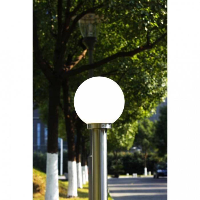 Eclairage paysager Lampadaire boule 110 cm