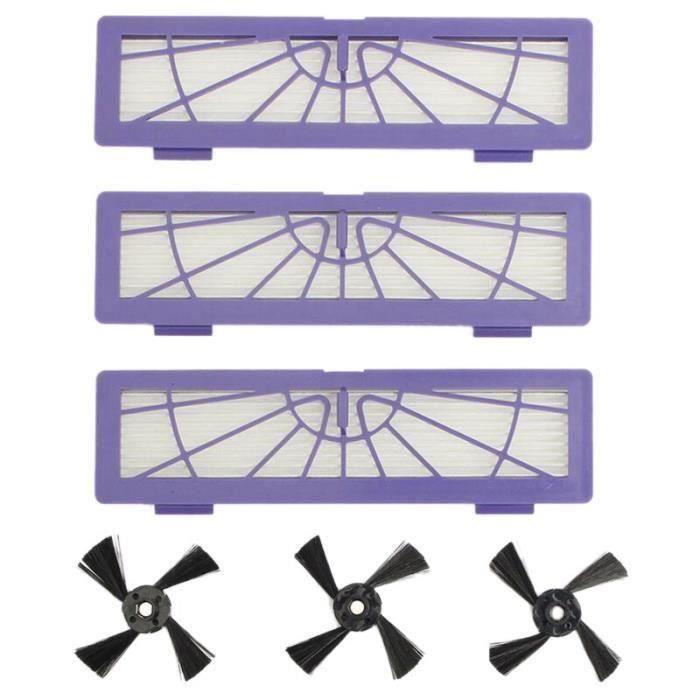 Ea-filtre brosse latérale pour Neato Botvac 70E 75 80 85 D75 D85 robot nettoyeur pièces de rechange