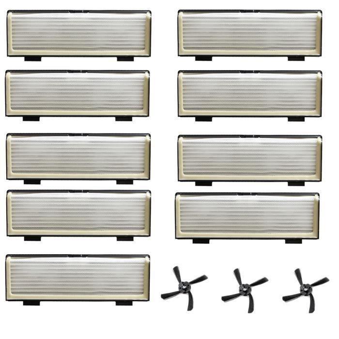 Brosse Latérale filtre Goccessoires pour Neato D7 - D5 - D3 - D7500 - D8500 - D Robot Sweeper_q1386 Go31086