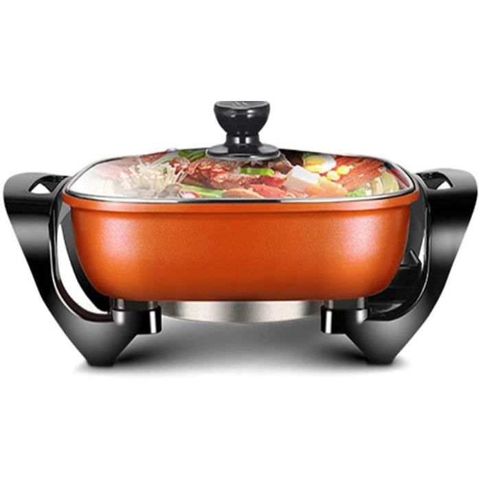 FONDUE ELECTRIQUE FUDIV &Eacutelectrodomestiques Wok multi-fonction &eacutelectrique Hot Pot Cuisini&egravere &eacutelectriq11