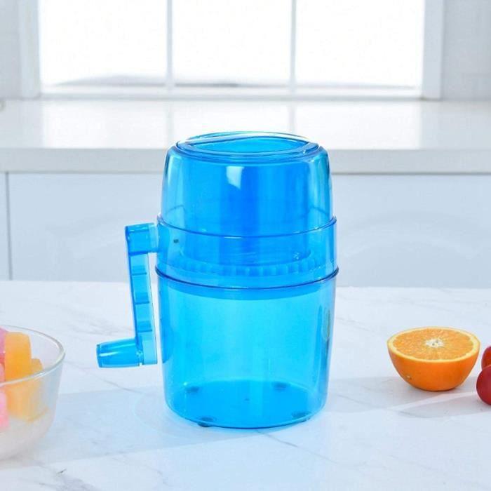 Machine glaons machine glaons machine glace pile manivelle domestique pour adultes Margarita pour enfants Cocktail congel[2981]