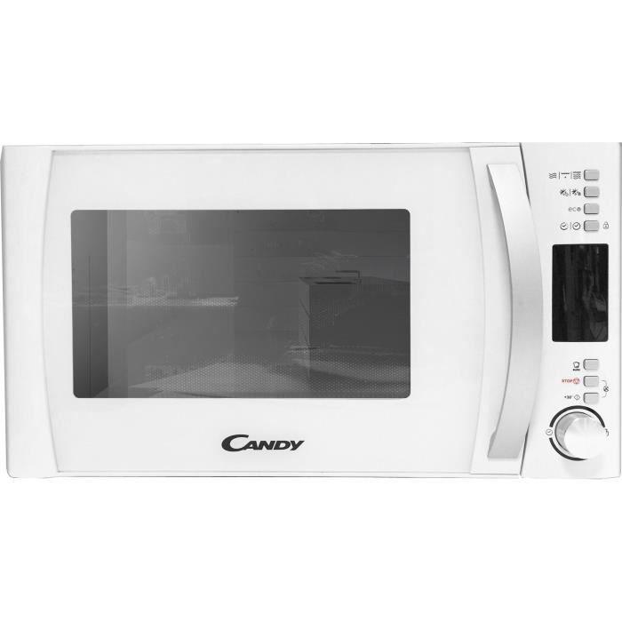 CANDY CMXG20DW - Micro ondes grill - 20L - 700W - Grill 1000W - Pose libre - Blanc