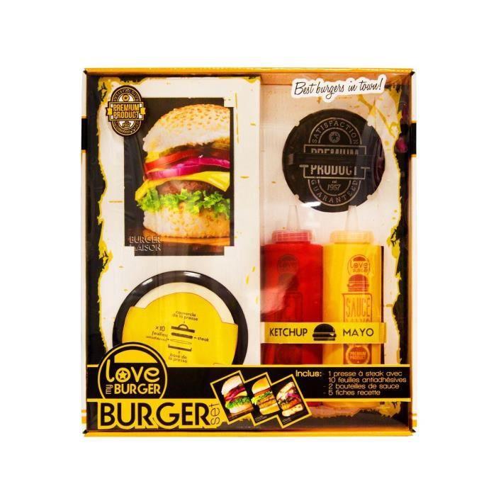Coffret Burger Vintage