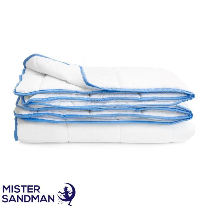 Couette 135x200 cm- Mister Sandman - couette hiver respirante hypoallergénique, certifiée ÖKO-TEX